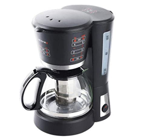 QSM Máquina de Café Filtro de Goteo Automático de Acero Inoxidable Máquina de Café Cafetera Tetera