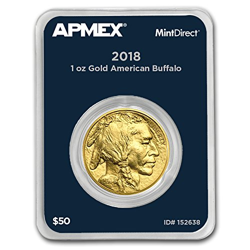 2018 1 oz Gold Buffalo (MintDirect Single) 1 OZ Brilliant (Uncirculated Gold Buffalo)