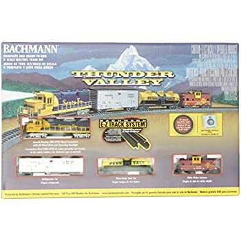 bachmann trains thunder valley ready to run n scale train set