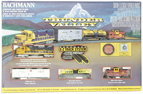 - Bachmann Trains Thunder Valley Ready-to-Run N Scale Train Set