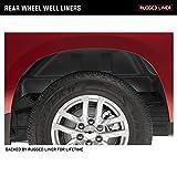 Rugged Liner Rear Wheel Well Liner   WWD09   Fits