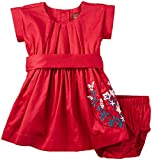 Tea Collection Girls' Akira Embroidered Baby Dress
