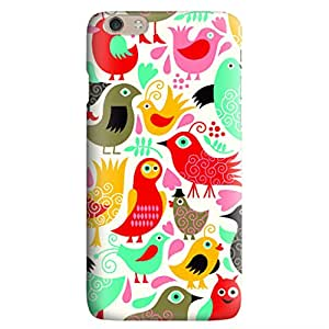 Iphone 6 6S Plus Case,JIANSE Stylish Full Protective Slim Fit Durable Flexible Colorful Fizz Bubbles Pattern Hard Back Cover Case Bumper for Iphone 6 6S Plus 5.5 inch