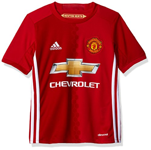 Adidas Soccer Manchester United Youth jersey, Small, - Shirt Man Football Utd