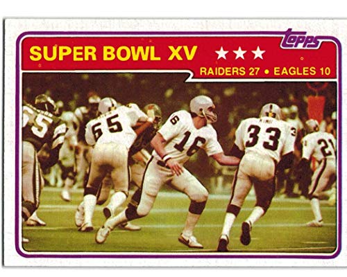 1981 Topps Oakland Raiders (1980 Super Bowl Champs) Team Set with Art Shell & 2 Jim Plunkett - 27 NFL Cards