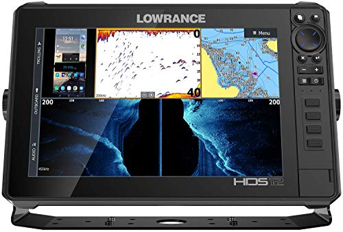 Lowrance 000-14427-001 HDS-12 LIVE GPS Fishfinder w / C-MAP Pro Charts - No Transducer