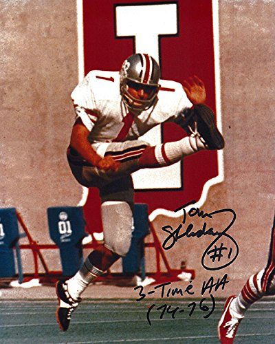 tom-skladany-autographed-ohio-state-buckeyes-8x10-photograph-certified-authentic-autographed-photos