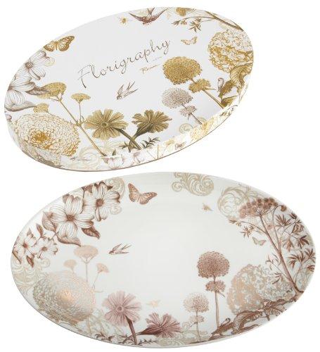 Rosanna Floriography Platter