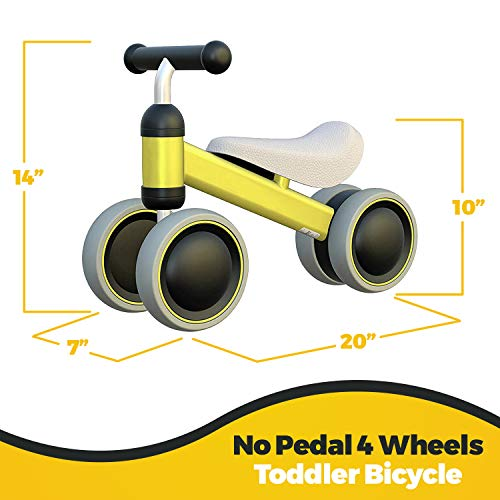 outdew-Baby-Balance-Bike-Bicycle-Ride-On-Toys-1-Y thumbnail 22