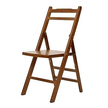 LQQFF Silla plegable de bambú, silla de pesca taburete ...