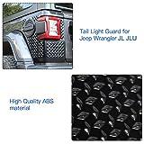 RT-TCZ Tail Light Body Armor Rear Corner Guards for 2018-2020 Jeep Wrangler JL JLU