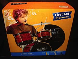 FIRST ACT DISCOVERY DRUM SET LEARNING SYSTEM KIDS DRUM SET