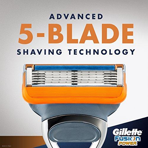 images-na Gillette Fusion5 Men's Razor Blades, 8 Blade Refills