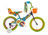 princess bike streamers - Titan Girl's Flower Power Princess BMX Bike, Multi Color, 16-Inch