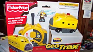 Amazon.com: Fisher-Price GeoTrax Remote Control Set with Figure - Rock & Pete: Toys & Games