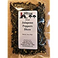 Dried Jalapeno Pepper Dices, 2 oz.
