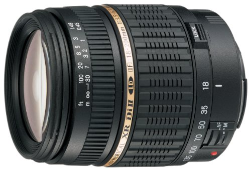 Tamron Auto Focus 18-200mm f/3.5-6.3 XR Di II LD Aspherical (IF) Macro Zoom Lens with Built In Motor for Nikon Digital SLR (Model - A14 Lens