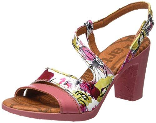 ART 0293 Fantasy Rio, Sandalias con Tira de Tobillo Para Mujer Varios colores (Flowers)