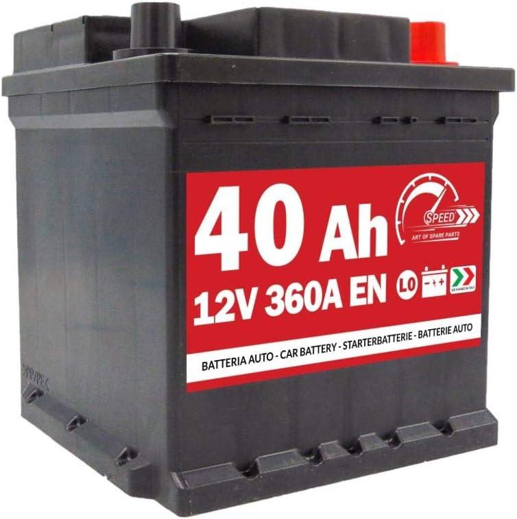 40AH 360A 12V DX BATTERIA AUTO SPEED