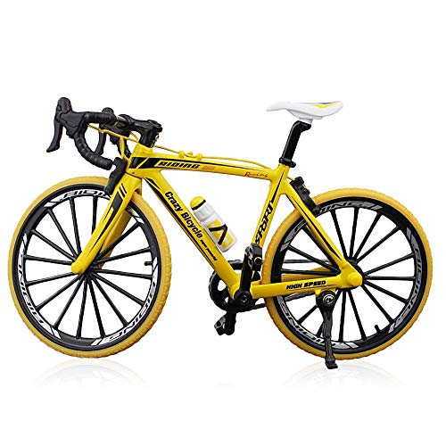 [해외]FOONEE Alloy Mini Bicycle Toy Alloy Model Simulation Bicycle Ornaments Finger Bike for Collections Mini Bike Finger Bike Fixed Bicycle Novelty Toys Game for Kids Boys Girls Creative Game Gift / FOONEE Alloy Mini Bicycle Toy, Alloy ...
