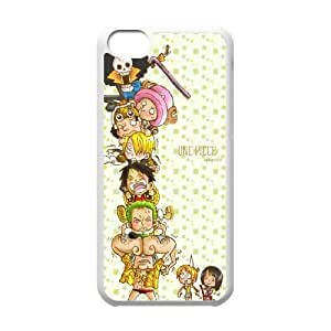 iPhone 5c Cell Phone Case White ONE PIECE Plastic Phone Case Clear CZOIEQWMXN32282