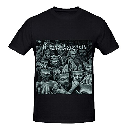 Limp Bizkit New Old Songs Tour Soundtrack Mens O Neck Custom T Shirts Black
