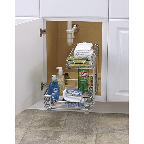 Amazon Chrome Kitchen Cabinet Shelf