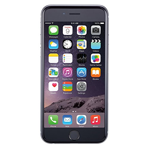 Apple iPhone 6, GSM Unlocked, 64GB - Space Gray (Renewed) (Best New Iphone 6 Accessories)