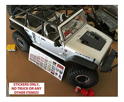 Buy rc stickers and decals crawler
