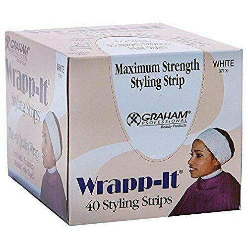- Graham Professional Beauty Wrapp-It White Styling Strips