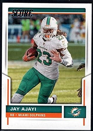 Amazon.com  Football NFL 2017 Score  173 Jay Ajayi Dolphins ... eb2b55a24