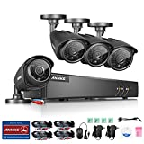 Cheap Annke New 8CH 1.3Megapixels Surveillance DVR System and (4) 960P(1280x960p) CCTV Metal Cameras with 100ft Night Vision, 5-in-1 1080N DVR Recorder with P2P Technology, Motion Detection, NO HDD