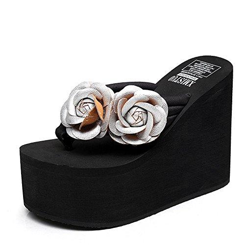 Per Le cn39 uk6 Scarpe Dimensioni Femminili Donna Con colore Donne Da Colori Haizhen Modo Eu39 12cm 2 Estate 8 Pantofole Di Tallone Alto Bw1Z6q5