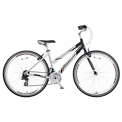 Image of Barracuda Women's Liberty Trekking Bike - Silver/Black (Wheel 700C, Frame 17 Inch) Cruiser Bikes