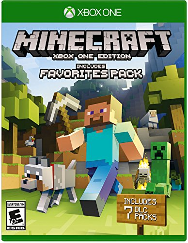 Minecraft Favorites Pack Xbox One product image