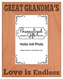 Mother's Day Gift Great Grandma's Love Natural Wood - Best Reviews Guide