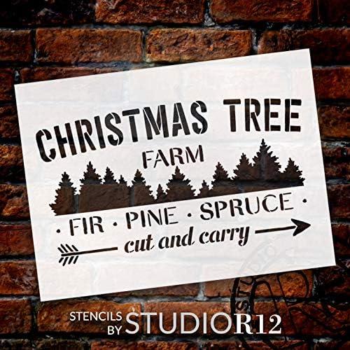 Amazon.com: Plantilla para árbol de Navidad – Plantilla de ...