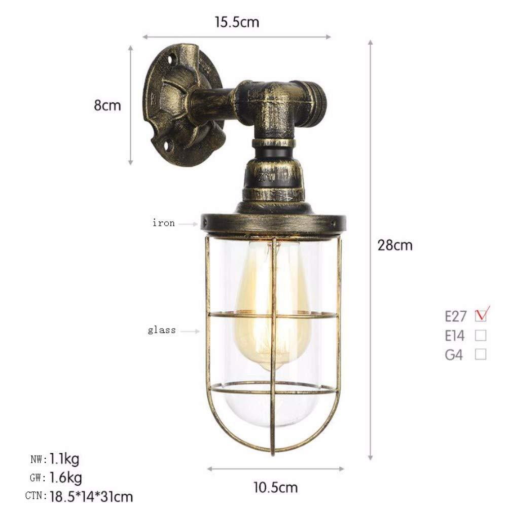 Innovation rohr wand lampe im schlafzimmer der retro - der wind korridor tieyi wand lampe memorial milch tee - geschäft b