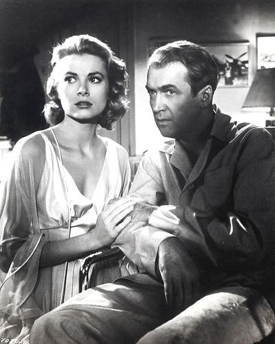 Rear Window Featuring James Stewart, Grace Kelly 8x10 Promotional Photograph
