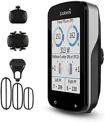Garmin Ordenador de Bicicleta Edge 820 GPS 010 – 01626 – 00 Bike Sensor de Velocidad y Sensor de cadencia 010 – 12104 – 00: Amazon.es: Deportes y aire libre