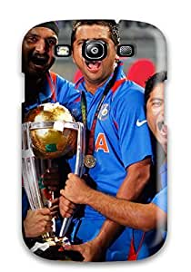 Galaxy S3 Case Slim [ultra Fit] Team India 2011 World Cup Protective Case Cover
