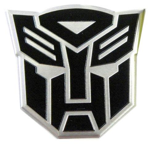 Transformer Aluminum - Transformers Autobots Aluminum Large Emblem in Black