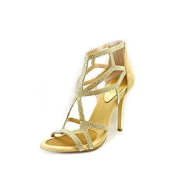 4f2fe0d98de12 BCBGeneration Women's Renee Caged Heeled Sandals