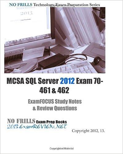 Exam 70-461 Ebook