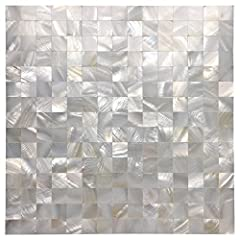 Features: Made of genuine natural mother of pearls, 100% eco-friendly material, water & fire proof, no radiation, no pollution, no color fading. Luxury tile with natural pearl luster. Beyond the eco-responsibility of reusing materials, it...