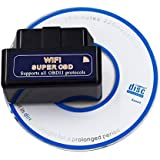 UniLink (TM) ELM327 WiFi Interface OBD2 OBD 2 WiFi Wireless Car Auto Diagnostic Scan Tool Code Reader for iPhone iPad iOS PC & Android