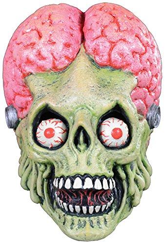 UHC Mars Attacks Full Head Adult Latex Mask Halloween Costume Accessory - Mars Attacks Costume Halloween