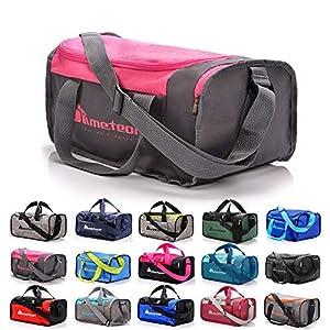 Sac de Sport Sac Sport Femme Homme Enfant Fille Bag Sac Voyage Bagage Duffel Moderne Fitness Sac molletonné Gym Vacances…
