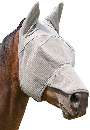 Weaver Leather Nose and Ear Covered Fly Masks with Xtended Life Closure System
