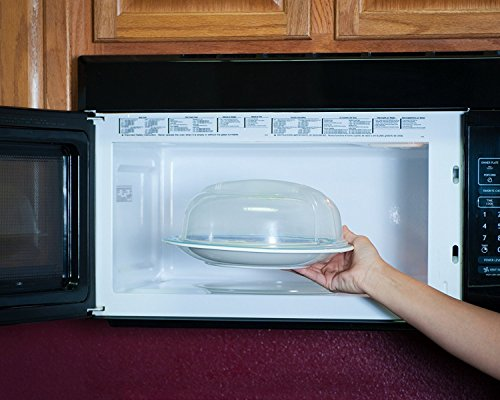 Vented Microwave Splatter 10 5 inch 3 5 inch product image